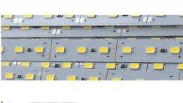 Светодиодные ленты - Светодиодная линейка 1м SMD5730 72/м с 3М…, 0