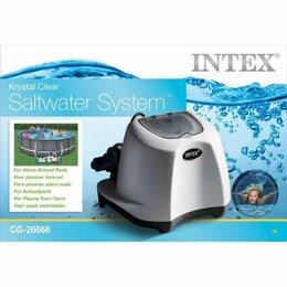 Фильтры, насосы и хлоргенераторы - 26668 Хлоргенератор INTEX KRYSTAL CLEAR (система морской воды), с таймером., 0