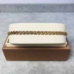 Браслеты - Золотой браслет 585пр, длина: 20см вес: 5,03гр, 0