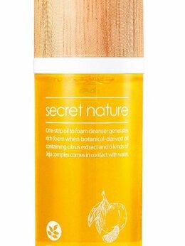 Увлажнение и питание - Secret Nature Mandarine Oil to Foam Cleanser…, 0