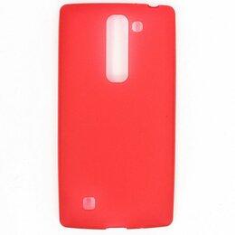 Чехлы - Силиконовый чехол для LG Magna H502/G4C (красный), 0