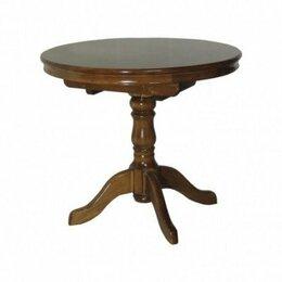Столы и столики - Стол обеденный Круглый деревянный раздвижной, 0