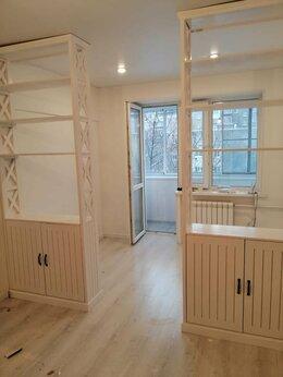Стеллажи и этажерки - стеллаж перегородка из дерева для дома дачи, 0