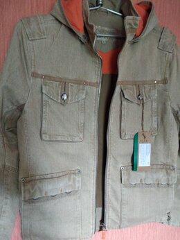 Куртки - Новая джинсовая ветровка S размера, 0