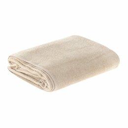 Постельное белье - Простыня махровая (150х200) пл. 380 гр. Бежевый, 0