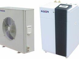 Солнечные коллекторы - Тепловой насос воздух-вода Hiseer AS10FW/L, 10кВт, 0