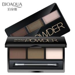 Для бровей - Тени для коррекции бровей Bioaqua Powder 3 цвета, BQY7489 , 0