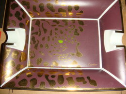 Сувениры - Пепельница Картье Cartier пантера винтаж 90х, 0