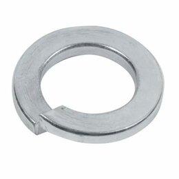 Шайбы и гайки - Оцинкованная гроверная пружинная шайба Стройметиз М14 DIN127 (100 шт.), 0