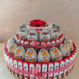 Подарочные наборы - Подарок на любой праздник из сладостей, киндеров, конфет, 0