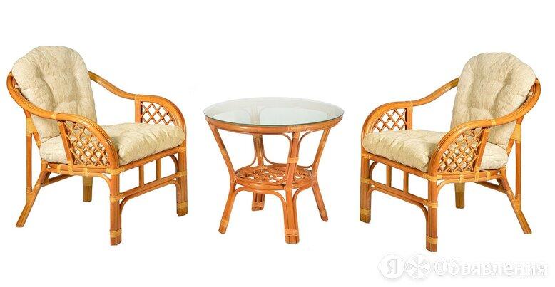 Комплект из ротанга Marcos (Маркос) дуэт по цене 22000₽ - Комплекты садовой мебели, фото 0