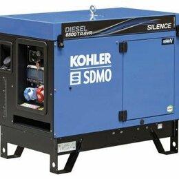 Электрогенераторы и станции - Дизель генератор KOHLER-SDMO Diesel 6500 TA Silence AVR C5, 5.2 кВт, 380/220 , 0