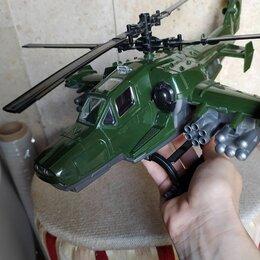 Машинки и техника - Вертолет детский военный, 0