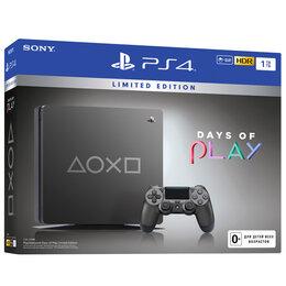 Игровые приставки - Игровая приставка Sony PlayStation 4 Slim 1 ТБ Days of Play Limited Edition, 0