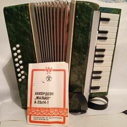 Детские музыкальные инструменты - Аккордеон малыш самоучитель детский, 0