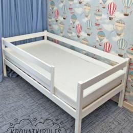 Кроватки - Детская кроватка с удлиненным передним бортиком, 0