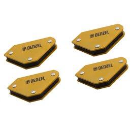 Аксессуары и комплектующие - Набор из 4 магнитных фиксаторов для сварочных работ Denzel, 0
