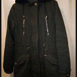 Куртки - Куртка парка bershka зимняя, 0