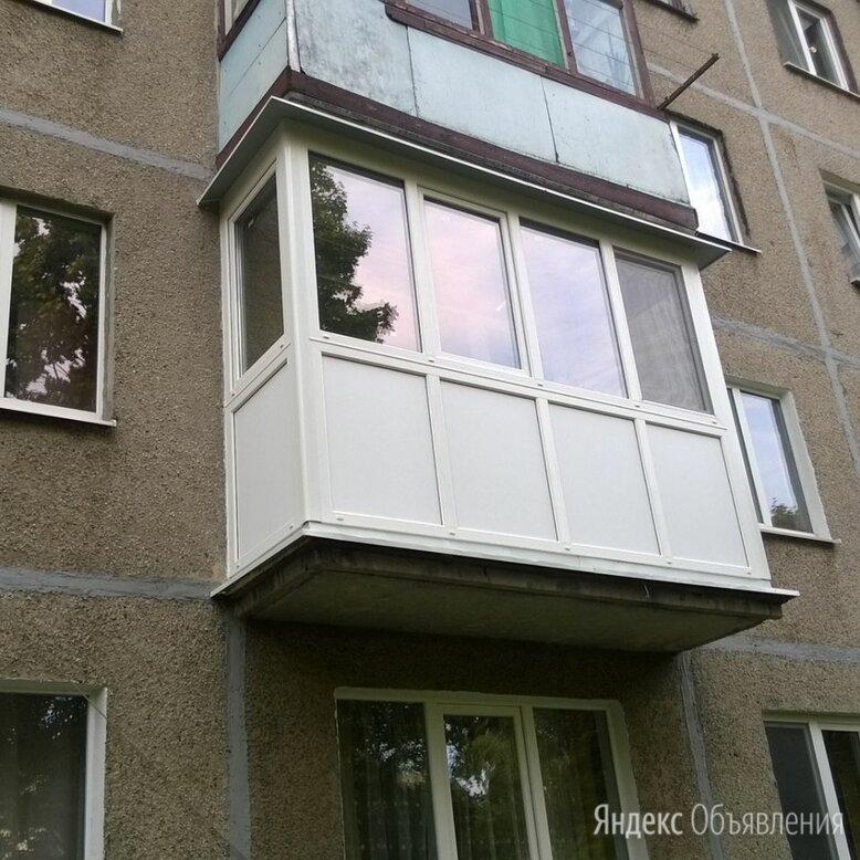Остекление лоджий, балконов, террас, беседок по цене 13500₽ - Окна, фото 0