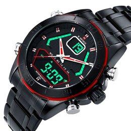 Наручные часы - Мужские часы Naviforce Япония Водонепроницаемые, 0