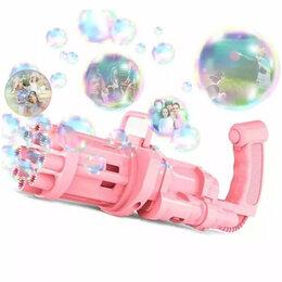 Мыльные пузыри - Мыльные пузыри пистолет - автомат Миниган, 0