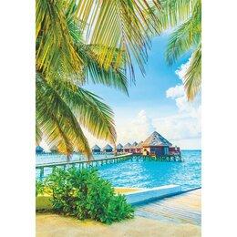 Обои - Фотообои 'Сказочные Мальдивы' (4 листа)  140Х200 см, 0