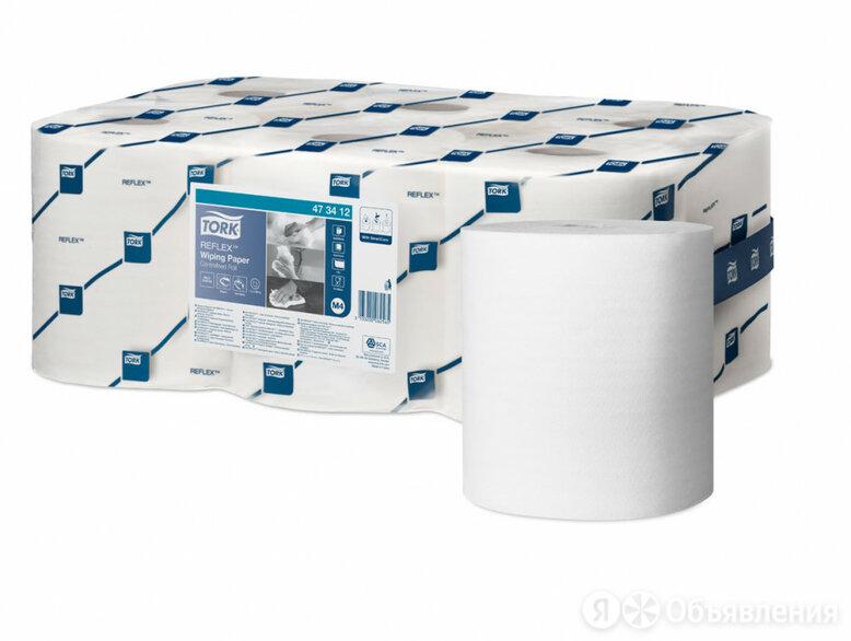 Протирочная бумага Tork Reflex по цене 553₽ - Строительные смеси и сыпучие материалы, фото 0