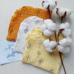 Бумажные салфетки, носовые платки - Платочки из муслина, 0