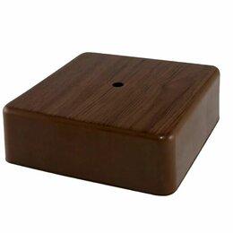 Электроустановочные изделия - Коробка распаячная 75x75х28мм для о\п БУК IP40 TDM, 0