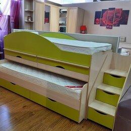 Кровати - Кровать детская двухъярусная, 0