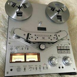 Музыкальные центры,  магнитофоны, магнитолы - Катушечный магнитофон akai gx635, 0