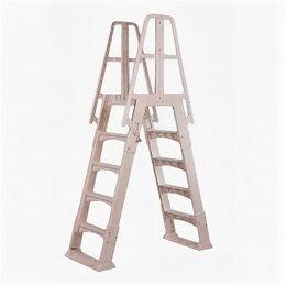 Лестницы и поручни - Лестница для сборных бассейнов универсальная пластиковая SLA-W, 0