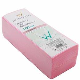 Спорт, красота и здоровье - Полоска для депиляции 7*20 Italwax 100 шт розовая, 0