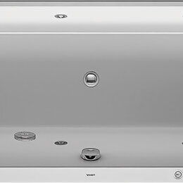 Гидромассажеры - Ванна акриловая Duravit Happy D2 1700х700х480 водный массаж, наклон справа 76..., 0