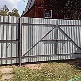 Заборы, ворота и элементы - Калитка и ворота для забора из профнастила., 0