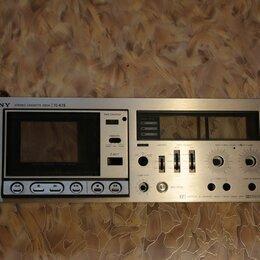 Музыкальные центры,  магнитофоны, магнитолы - Кассетная дека Sony tc- k7 II (разбор), 0
