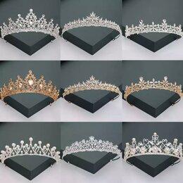 Свадебные украшения - Свадебные аксессуары диадема корона, 0