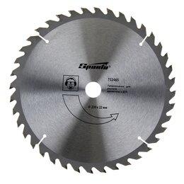 Для дисковых пил - Пильный диск по дереву Sparta, 230 х 22 мм, 40 зубьев, 0