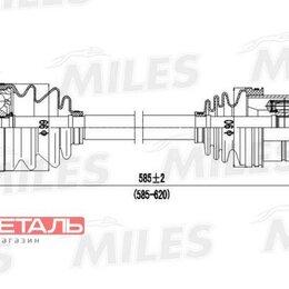 Трансмиссия  - MILES GC01006 Привод в сборе AUDI A3/SKODA OCTAVIA/VW PASSAT/GOLF 1.6-2.0 03-..., 0