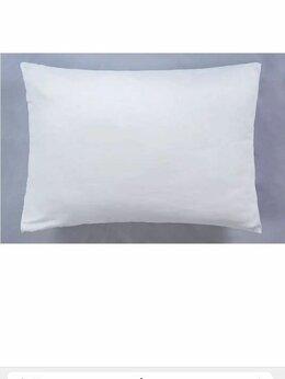 Постельное белье - Наволочки белые новые 50х70, 0