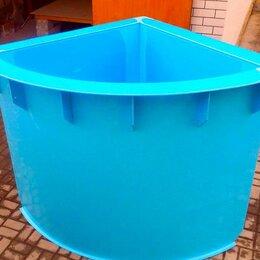 Бассейны - Полипропиленовый угловой бассейн, 0