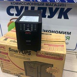 Источники бесперебойного питания, сетевые фильтры - Интерактивный ИБП APC by Schneider Electric Smart-UPS SUA1000XLI, 0