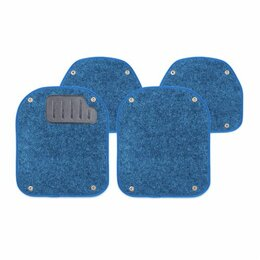 Подставки и держатели - Вкладыши ковролиновыеи AUTOPROFI, для ковриков TER-500i, компл. из 4 предм., син, 0