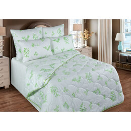 Одеяла - VESTA Одеяло обл. 220х205 см, бамбуковое волокно, ткань глосс-сатин, п/э 100%, 0