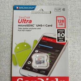 Карты памяти - MicroSD SanDisk Ultra 128 GB, 0