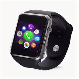 Аксессуары для умных часов и браслетов - Смарт-часы Орбита OT-SMG10, microSim, 240*240 TFT, BT, 0,3Mp cam, microSD, че..., 0