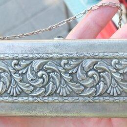 Клатчи - серебряная театральная сумка клатч,серебро 84 проба,царская Россия, 0