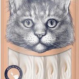 Лакомства  - Wanрy Cat лакомства д кошек нежное пюре из тунца и лосося 70гр, 0
