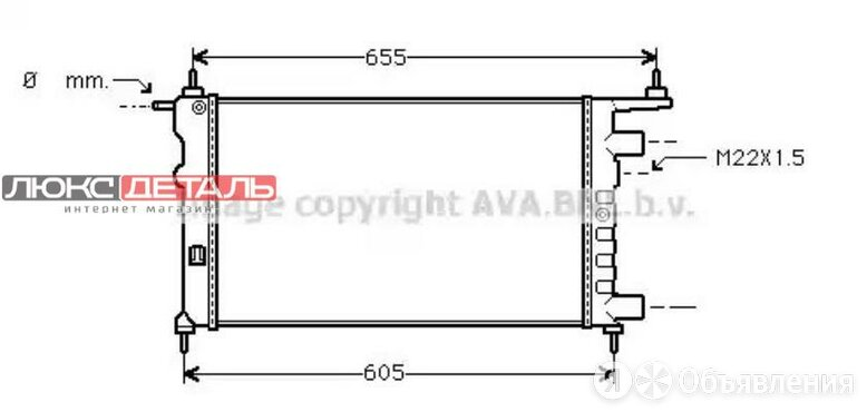 AVA OLA2261 Радиатор  по цене 3351₽ - Отопление и кондиционирование , фото 0