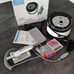 Аппараты для маникюра и педикюра - Фрезер Nail Drill ZS-606 PRO для маникюра и педикюра Белый, 0